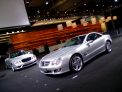 Mercedes Benz SL - right-front view 3 - click for wallpaper