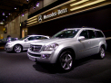 Mercedes Benz GL-class - left-front view - click for wallpaper