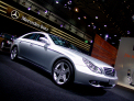 Mercedes Benz CLS-class - right-front view - click for wallpaper