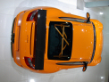 Porsche 911 (997) GT3 RS - rear view from above - click for wallpaper
