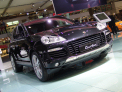 Porsche Cayenne Turbo - front-right view - click for wallpaper