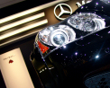 Maybach - headlamp detail - Click for wallpaper