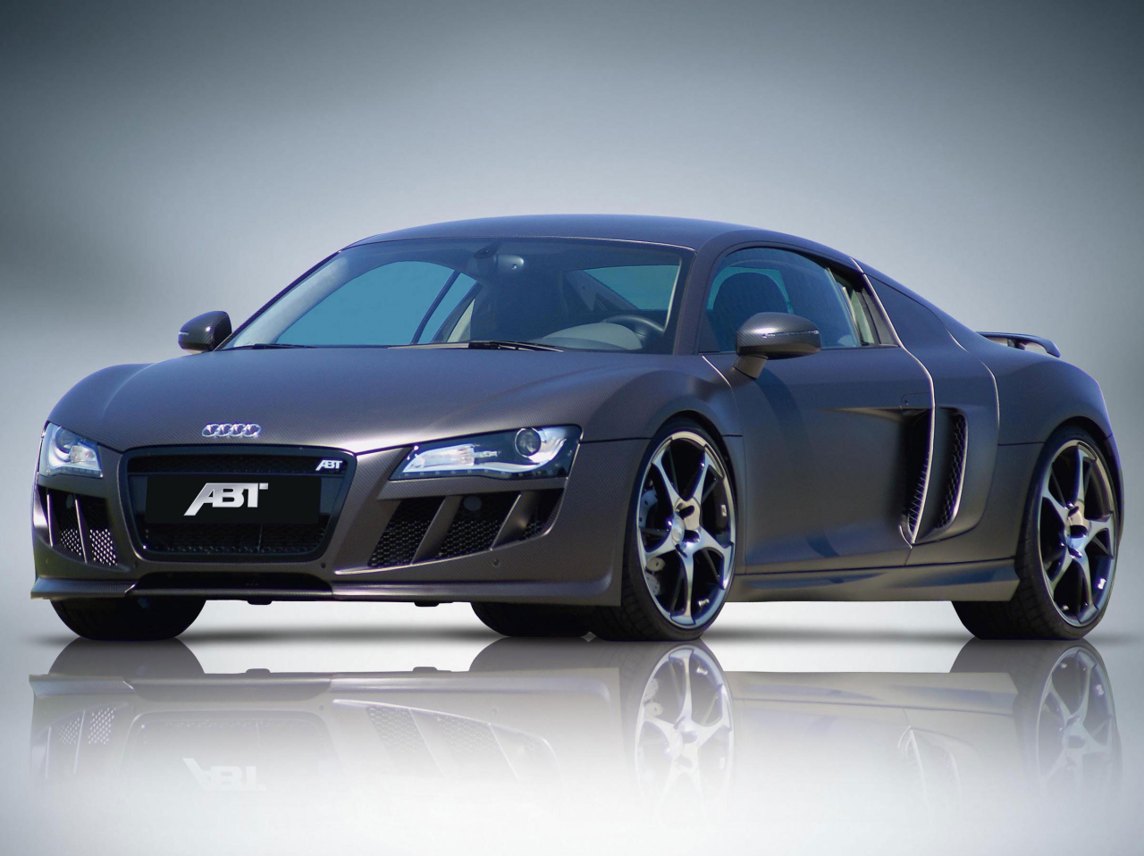 Audi R8 with carbon-style foil by Abt Sportsline