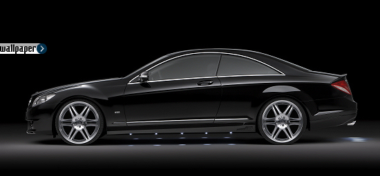 Mercedes CL-class by Brabus with Monoblock VI
