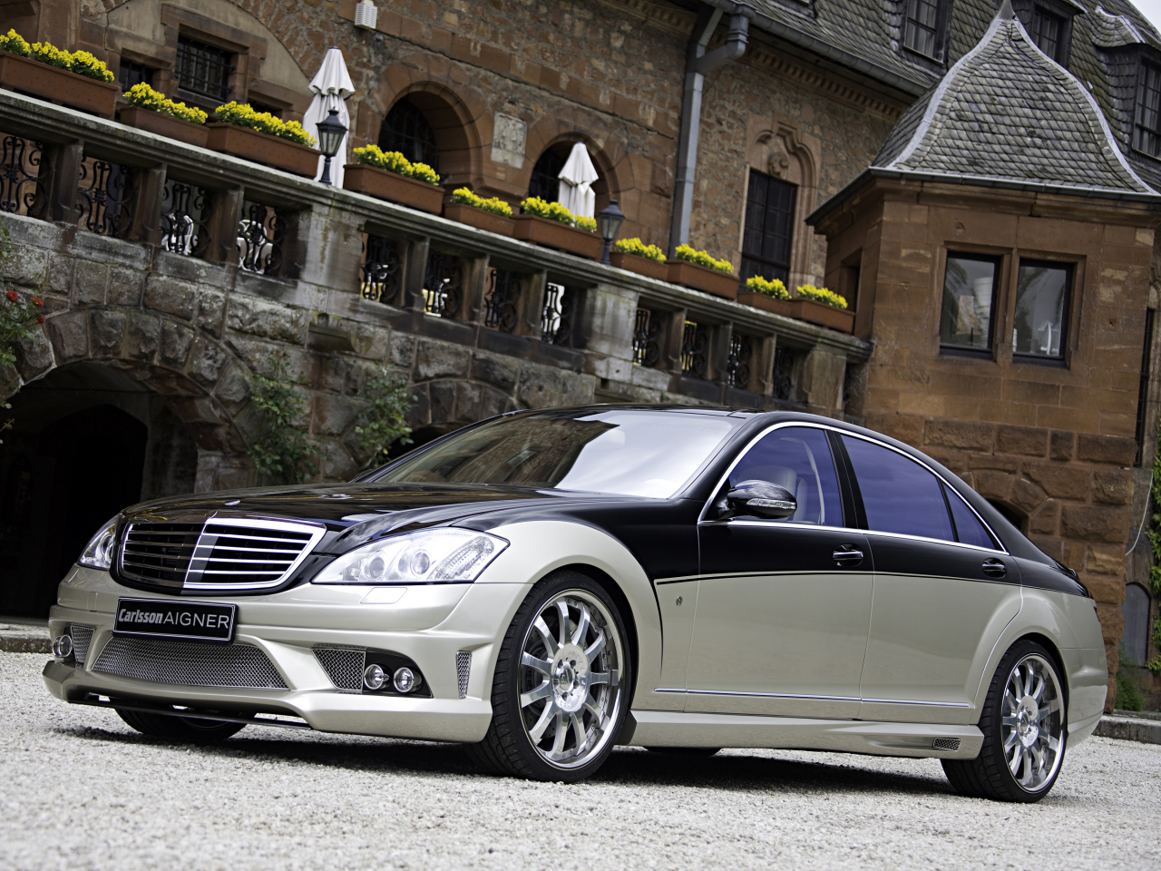 Carlsson Aigner CK35 RS Blanchimont basing on the Mercedes S-class