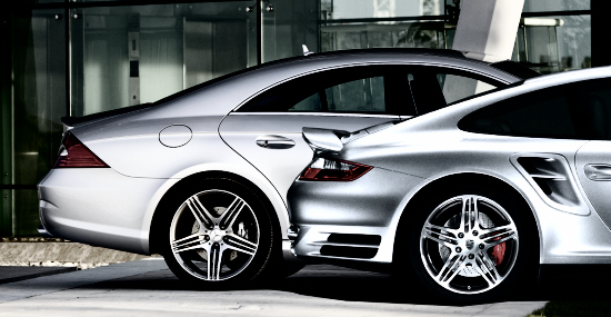 Parallel Spoke Wheels on AMG Mercedes CLS and Porsche 997 Turbo