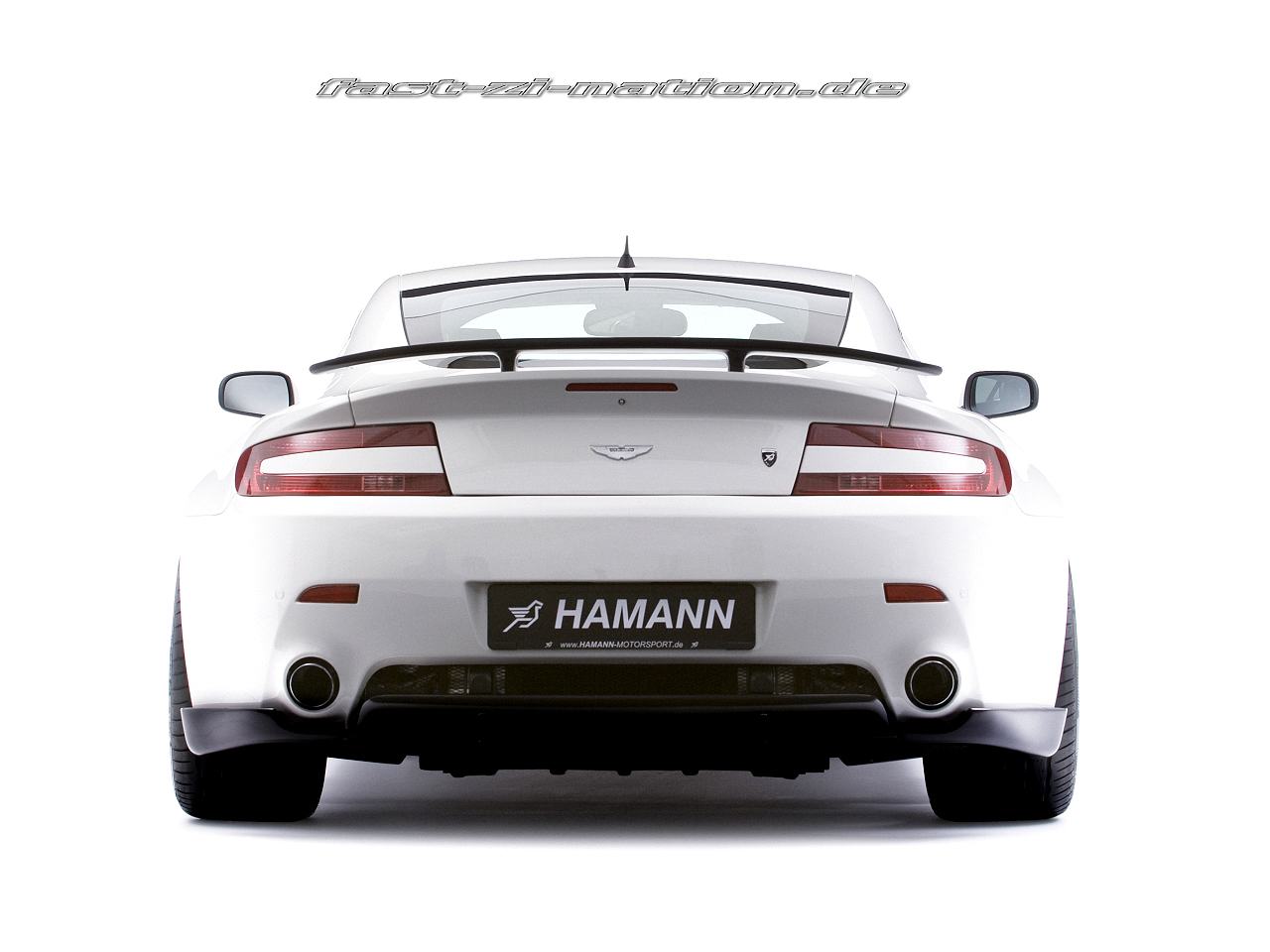 wallpaper 1280x960: Aston Martin V8 Vantage by Hamann Motorsport