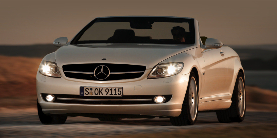 Mercedes S-class Cabrio basing on the CL- Artist's Impression
