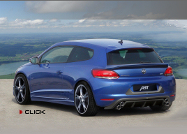 Scirocco by Abt Sportsline - rear side view - click here
