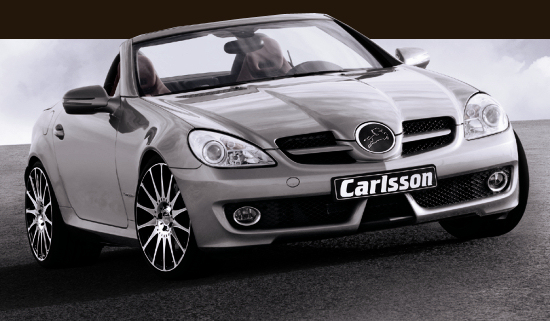 Smart Fortow and Mercedes McLaren SLR in partner look by Brabus