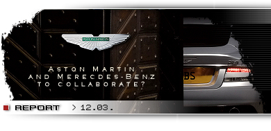 Aston Martin and Mercedes-Benz to collaborate?