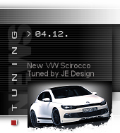 New VW Scirocco by JE Design