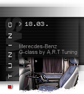 Mercedes G-class by A.R.T. Tuning