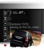 Carlsson CK50 basing on the GL-class
