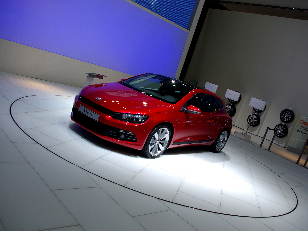 wallpaper 1024x960: All-new VW Scirocco on the Leipzig Motor Show