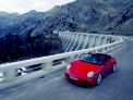 Porsche 911 Cabriolet in the Alps