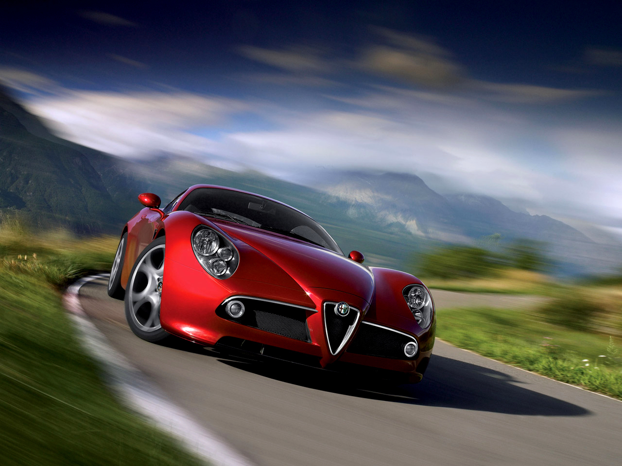 wallpaper 1024x960: Alfa Romeo 8C
