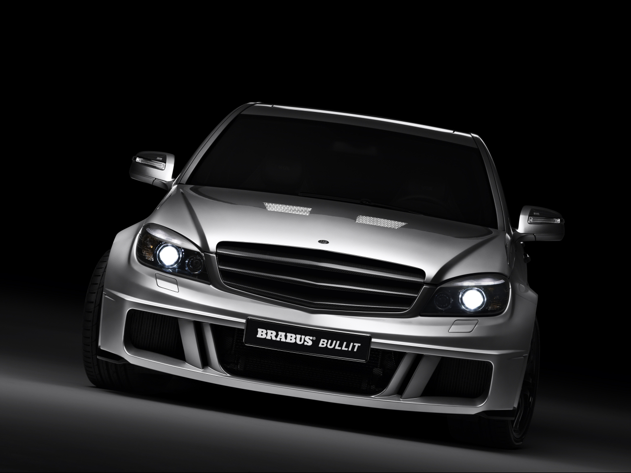 Brabus Bullit based on the Mercedes-Benz C-class