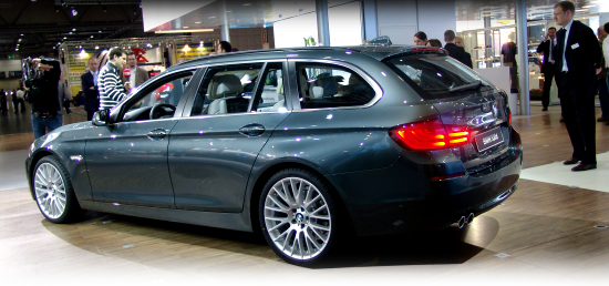 BMW 5-Series Touring at the Leipzig Motor Show