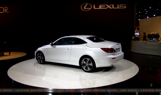 Lexus IS Cabrio Coupe - Click here!