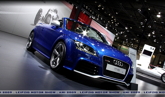 Audi TT RS Roadster - Click here!
