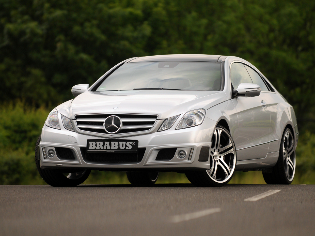 All-new Mercedes E-class Coupe by Brabus