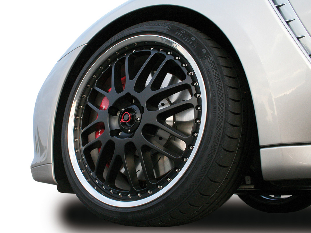 wallpaper 1280x960: Porsche Panamera With Cargraphic 'Sport' Wheel in 21 Inch