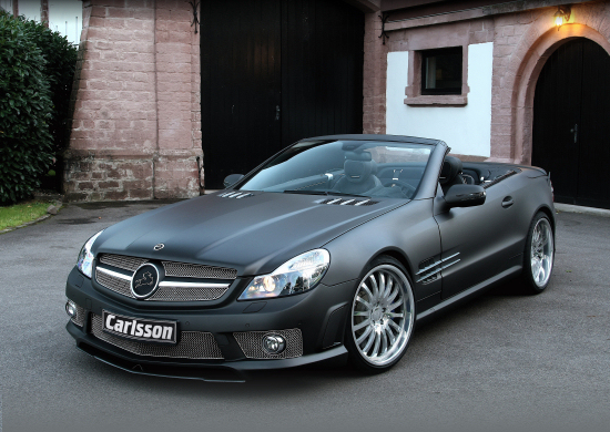 Carlsson CK 63 RS basing on the Mercedes-Benz SL 63 AMG