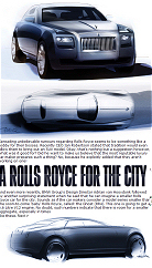 A Rolls Royce City Car? Next Page