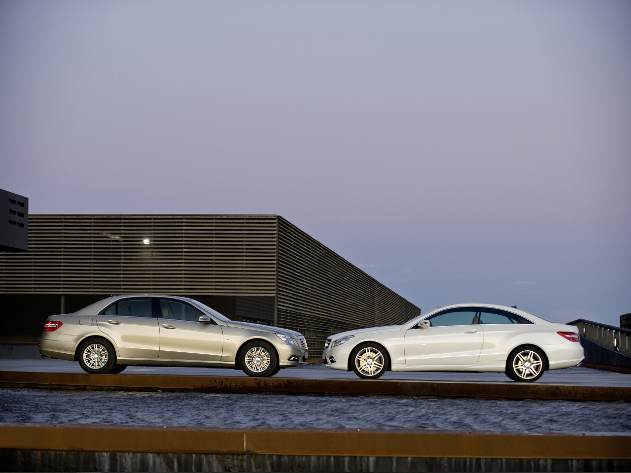 All-New Mercedes-Benz E-class Sedan And Coupe