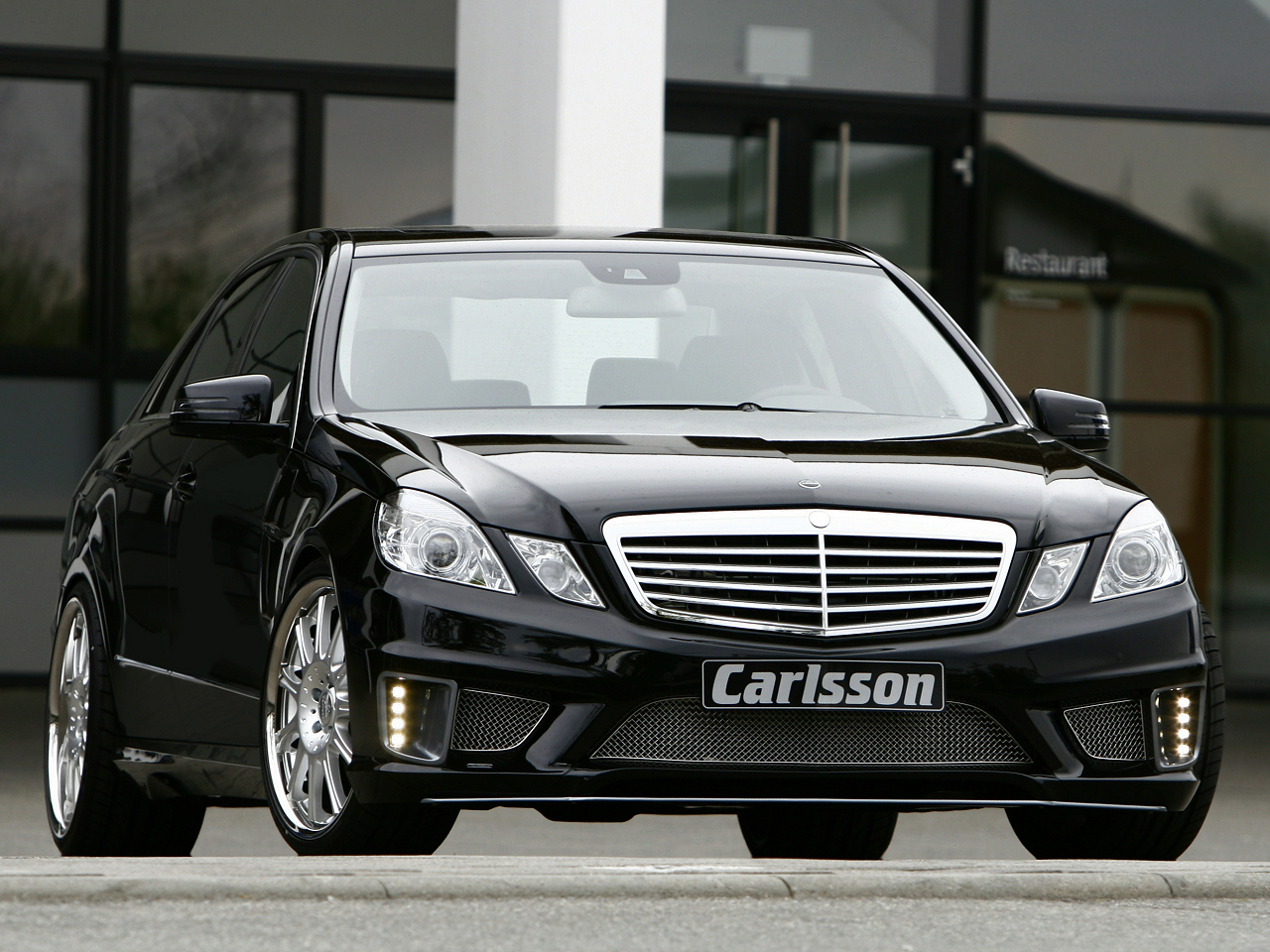 All-new Mercedes E-class by Carlsson