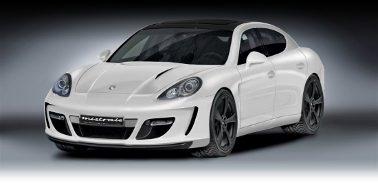 Gemballa Mistrale Basing on the Porsche Panamera