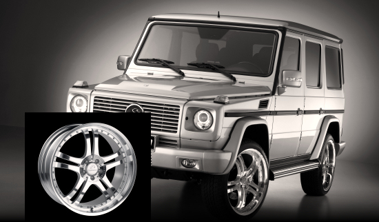 Mercedes G-class With Carlsson 22