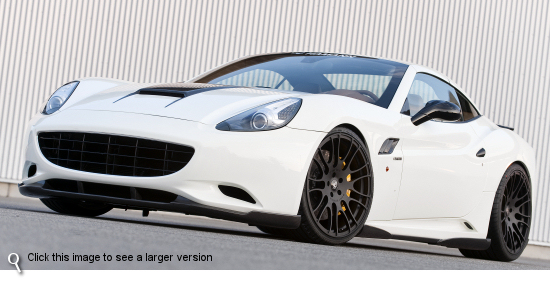 Hamann Ferrari California With Unique Forged Anodized Wheels