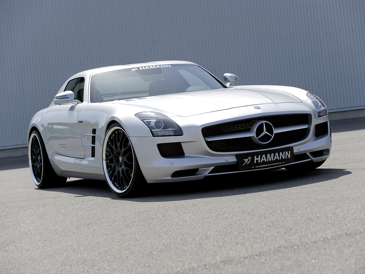 Mercedes SLS AMG by Hamann Motorsport