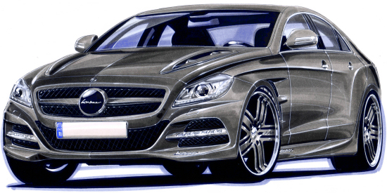 All-New Mercedes CLS by Lorinser