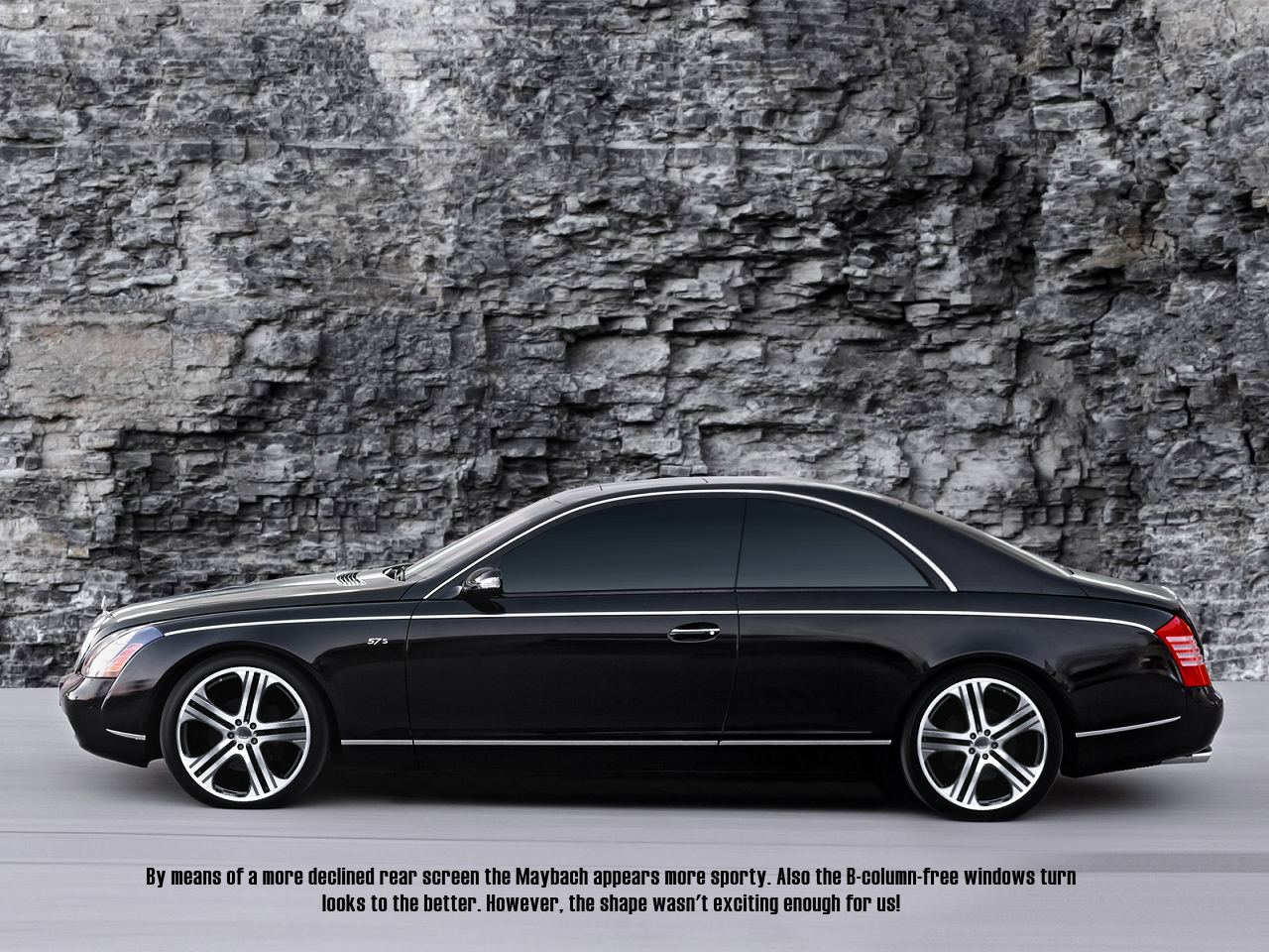 Artist's Impression: Maybach 57S Coupe