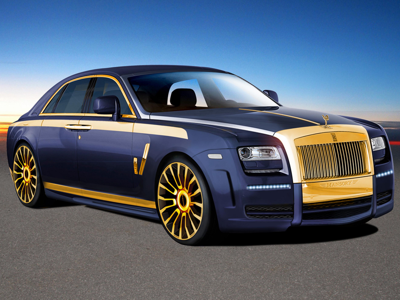 New Rolls Royce Ghost by Mansory