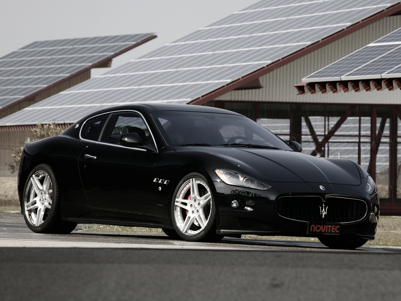 wallpaper 1280x960: Maserati Grand Torismo S by Novitec Tridente