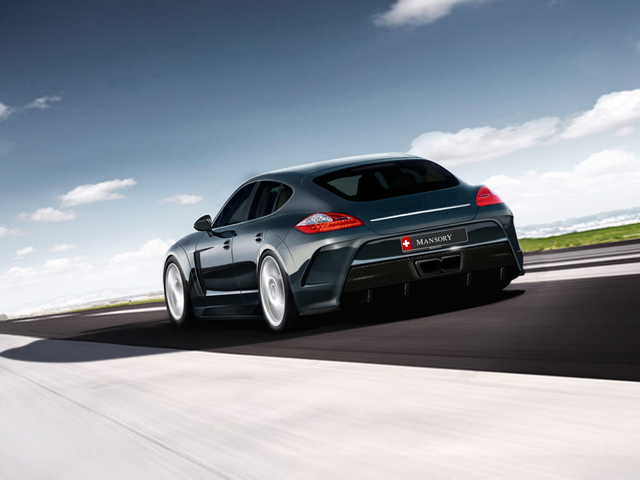 wallpaper 1280x960: Porsche Panamera by Mansory