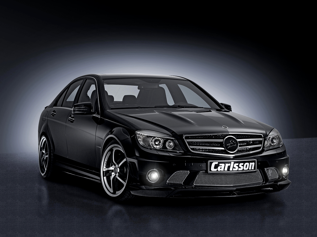 Carlsson Revo 1/5  mounted to the Mercedes C-class