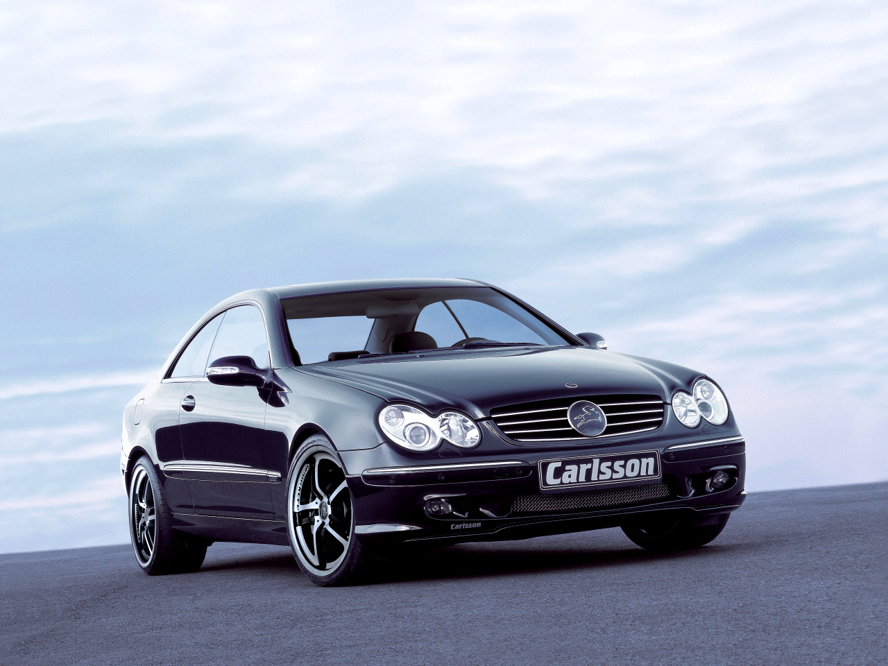 Carlsson Revo 1/5  mounted to the Mercedes CLK-class