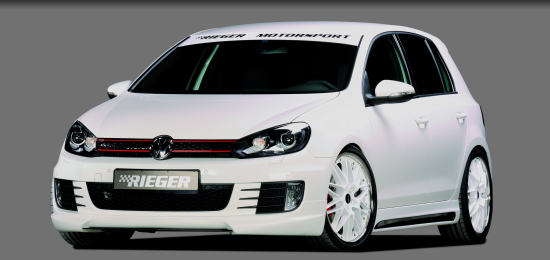 VW Golf GTI Mk VI by Rieger Tuning