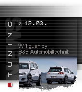 VW Tiguan by B&B Automobiltechnik