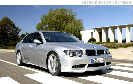Click the picture to get it as a wallpaper ... BMW 7-series by AC Schnitzer - front-right view