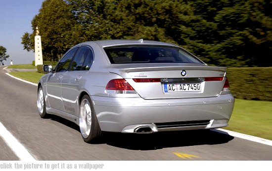Click the picture to get it as a wallpaper ... BMW 7-series by AC Schnitzer - rear-left view