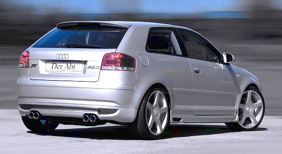 Audi A3 conversion AS3 by Abt-Sportsline - rear-right view