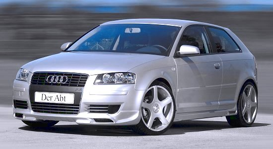 Audi A3 conversion AS3 by Abt-Sportsline - front-left view