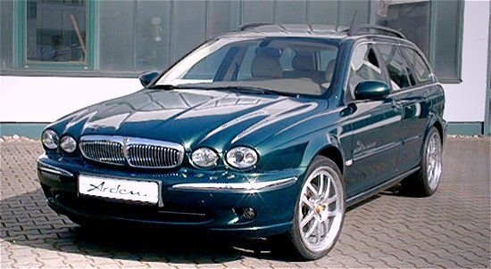 Jaguar X-type Diesel by Arden Automobilbau (front-left view)