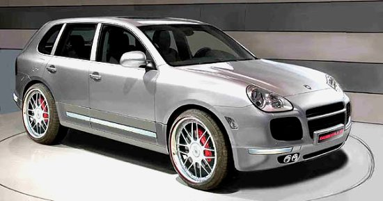 Porsche Cayenne by Gemballa - right-front view